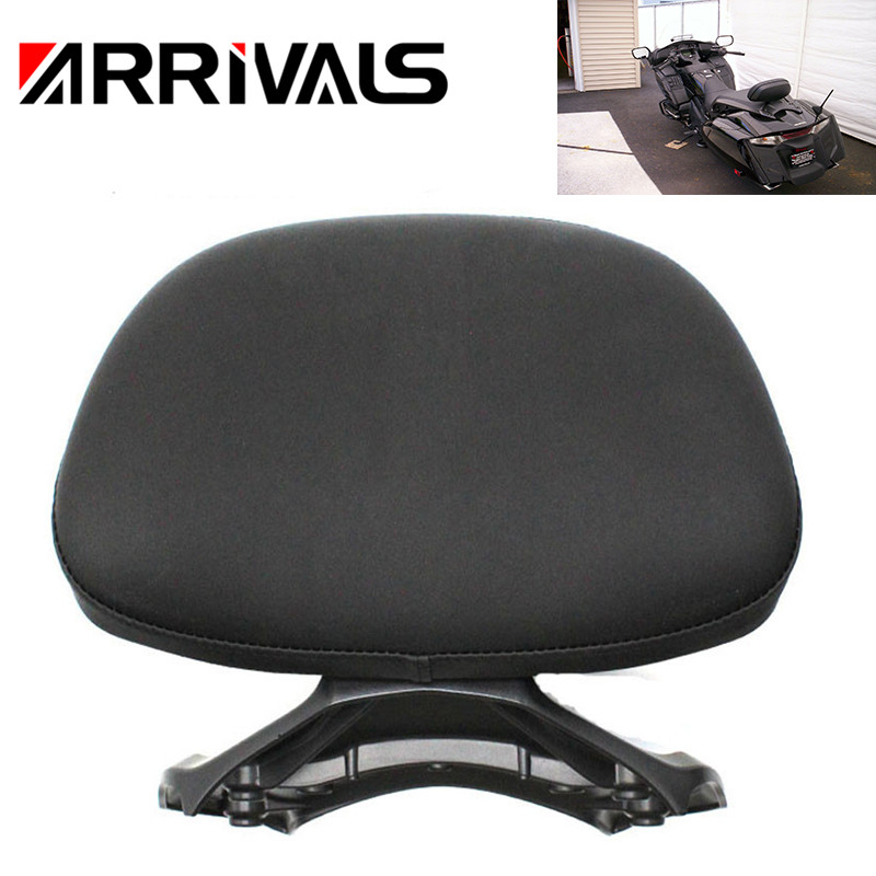 Motocycle Rear Backrest Passenger Seat Cushion Back Rest Pad For Honda Goldwing GOLD WING GL1800 F6B GL 1800 2013-2016