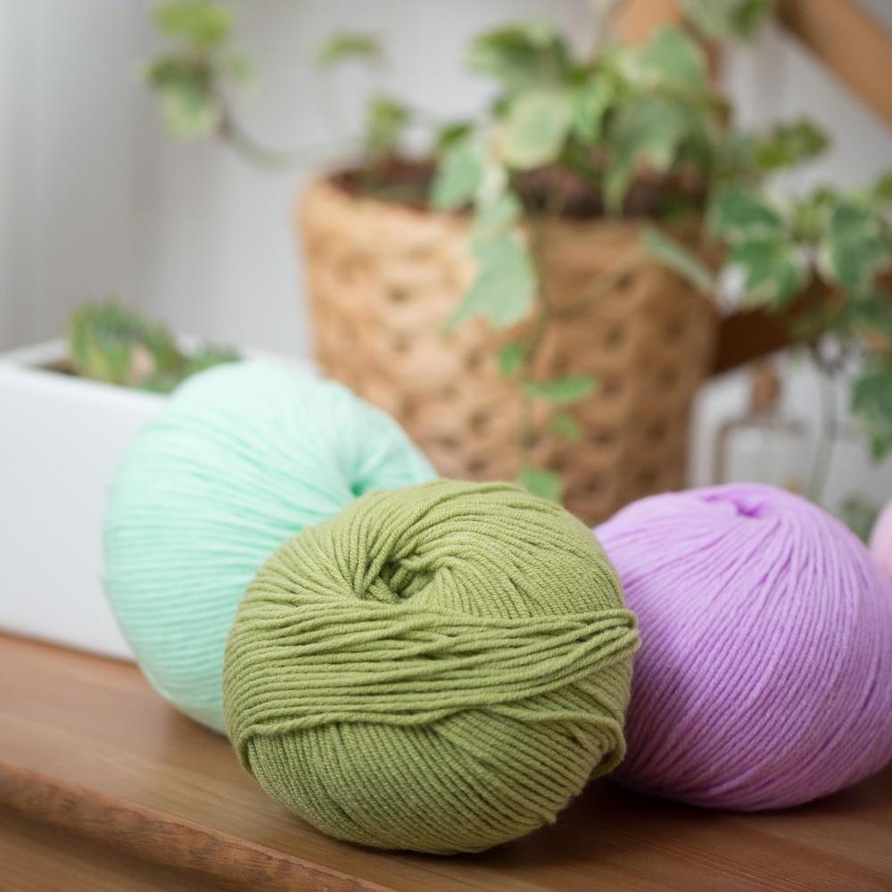 29 Farben 10 Stück handgewebter Draht zum Häkeln Schnur Stricken - Kunst, Handwerk und Nähen