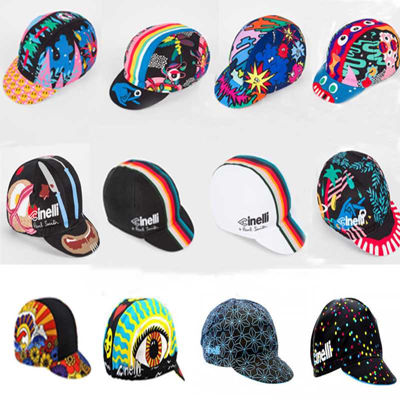 2019 NEW Cinelli Cycling Caps Men and Women BIKE wear Cap/Cycling hats Choose from 12 styles|Cycling Caps| |  - title=