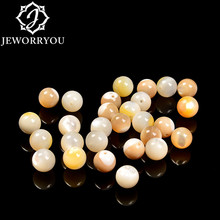 4/5/6/7/8/9/10/11/12mm natural Beads for DIY Jewelry Making Round tridacna Loose Spacer Beads for Handmade Bracelets Necklace 7 metric sockets handle hardware combination package 5 6 8 9 10 11 12mm hand tools