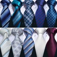 Свадебный подарок мужской галстук красный Золотой Полосатый модный дизайнерский галстук для мужчин бизнес Dropshiiping Barry. Wang галстук для жениха DS-5022