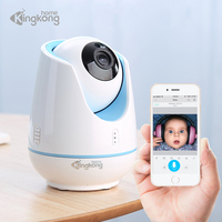 Kingkonghome 1080P Home Security Mini Wireless Camera CCTV Surveillance Two Way Audio IP Cameras IR Night Vision Baby Monitor