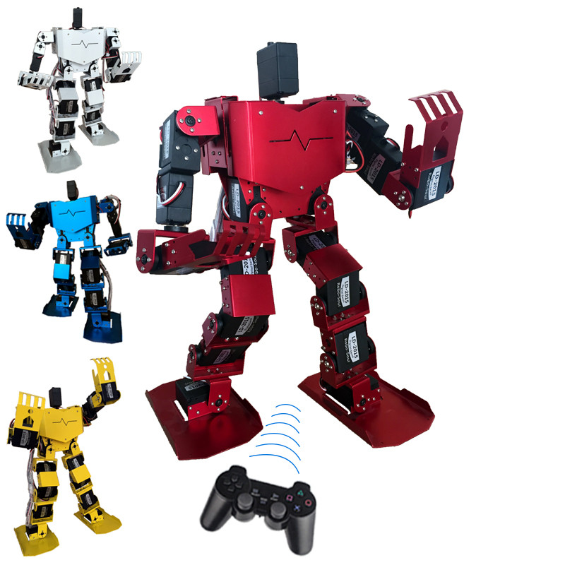 ФОТО 19 dof humanoid robot all in one robot-soul robo-soul h3.0-19s contest dance robot arduino an unassembled