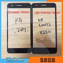 цена на 50Pcs LCD Outer Glass For LG K4 2017 European Version / For LG K4 2017 X230 Latin American Version