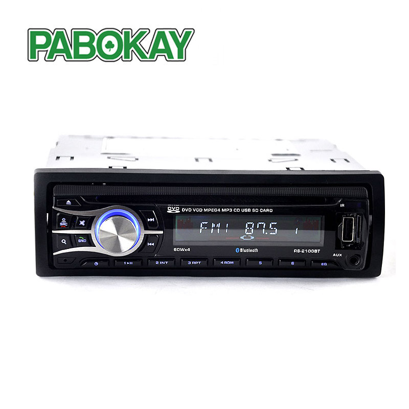 Universal 1 DIN Autoradio Car Radio 12V Bluetooth CD/ DVD Player Car Stereo In-Dash FM Aux Input Receiver SD MP3 MMC USB Charger thebalm увлажняющая тональная основа balm shelter medium