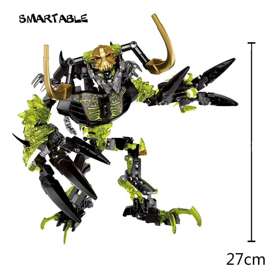 Image 2 - Smartable BIONICLE 191pcs Umarak Destroyer figures 614 Building Block toys Compatible All Brands 71316 BIONICLE Christmas Gift-in Blocks from Toys & Hobbies