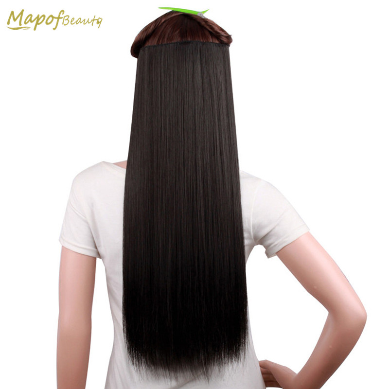 Synthetic Extensions Humor Mapofbeauty 14 Loose Wave Women Hairpiece Ponytail Shape Claw Black Hair Extensions Clip-in Heat Resistant Synthetic Hair
