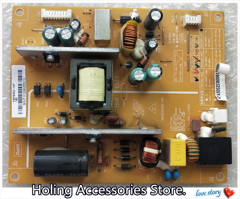 Capacitor Pack for Samsung TV power supply board