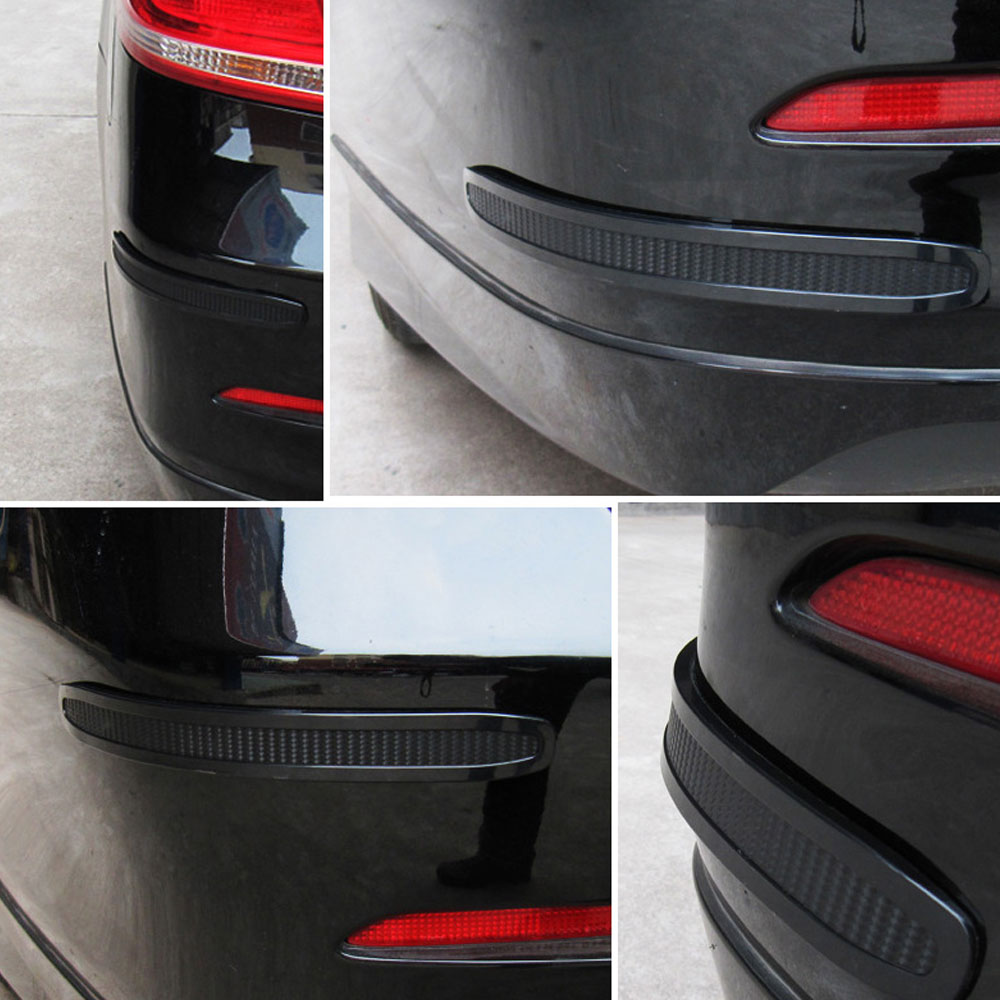 1Pair Auto Car Corners Guard Buffer Trim Molding Protection Strip Scratch  Protector