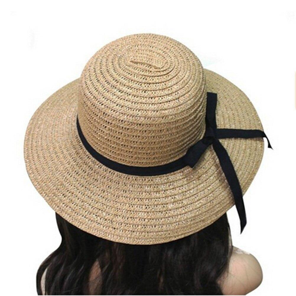 Darshion Fashion Summer Leisure Sun Hat Straw Unisex Beach Hat Jazz Sun Hat
