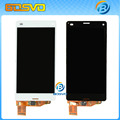 Substituição lcd screen display com toque digitador assembléia para sony xperia z3 mini m55w z3 d5803 compact 1 pcs freeshipping