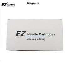 EZ Tattoo Needles Cartridge #10 Bugpins (0.30mm Needle) Magnum For Filter Pen Cartridge Tattoo Pen Machine 20 Pcs /lot