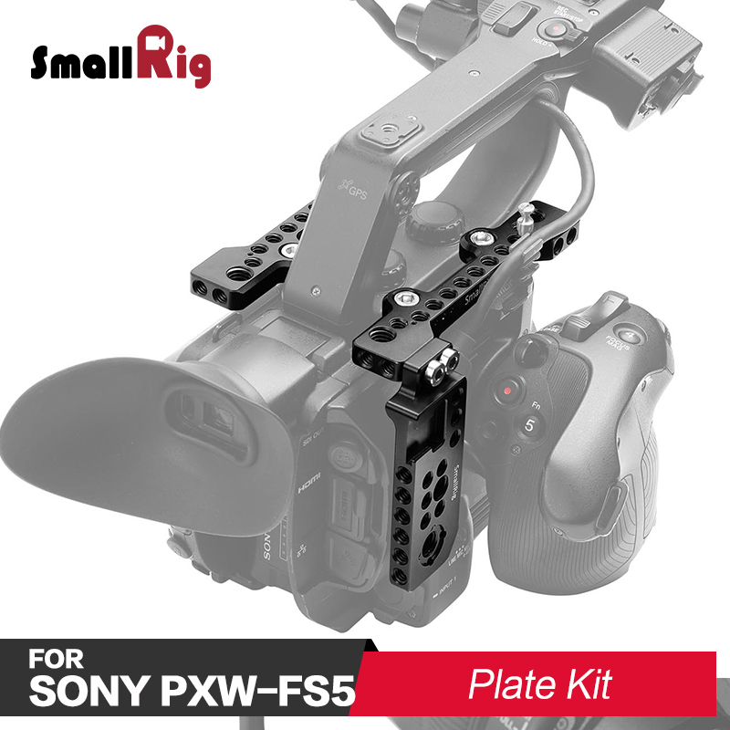 SmallRig DSLR Camcorder Plate Kit for Sony PXW FS5 With Shoe mount 1 4 3 8