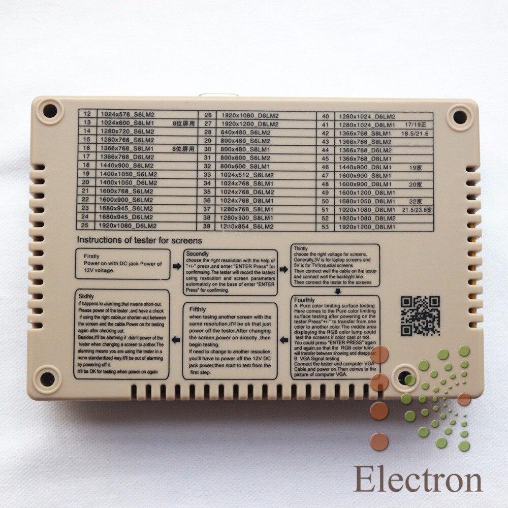 Panel Tester,LED LCD Screen Tester Tool Kit For Computer TV Repair Support 7-65'' td 0 200v voltage tv laptop led lcd backlight tester lamp beads light board transistor geiger tester