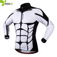 WOSAWE Men S New Cycling Jerseys Ciclismo Long Sleeve Bicycle MTB Bike Cycle Clothing