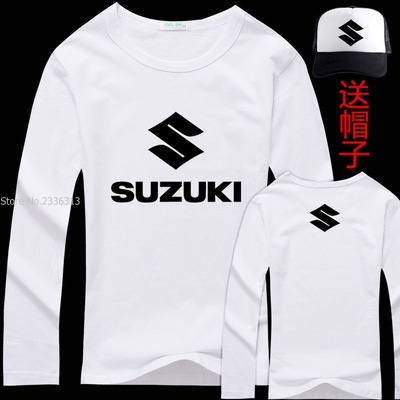 autumn spring long sleeve cotton suzuki t shirt men 39 s. Black Bedroom Furniture Sets. Home Design Ideas