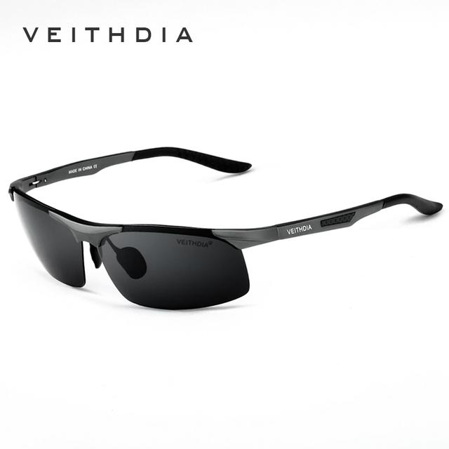 Lente Polarizada Óculos De Sol Dos Homens Sports óculos de Sol Óculos de Condução de alumínio Acessórios Eyewear Oculos oculos de sol masculino 6526