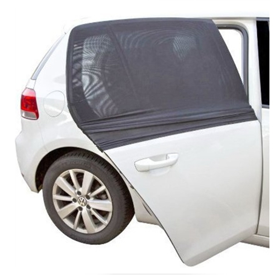 High Quality Motors Sunglasses Provide the largest UV protection Cover side rear window 2 x High quality mesh Car shade