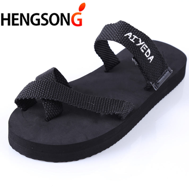 2018 Summer Slippers For Women Lovers Couples Flats Beach Sandals Slippers Women Flip Flops Fashion Unisex Shoes Black RANDOMLY krorche brand new unisex lovers flip flops indoor