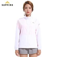 Supfire Wind Coat Running Cycling Jackets Womens Hiking Fishing Sunscreen Windproof Long Sleeve Jerseys Bicycle Clothing C011