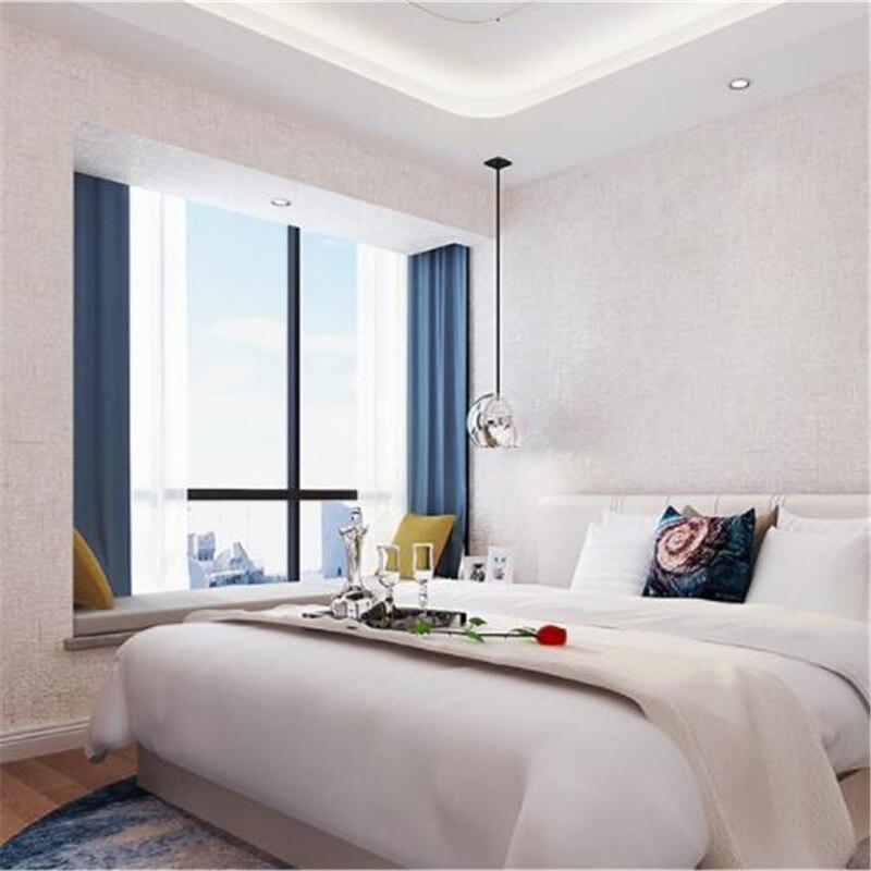 Beibehang Einfache Klar Tapete Vlies Schlafzimmer Voller Stock Reine Farbe  Mode Warme Wohnzimmer Tapete Hintergrund Wand In Beibehang Einfache Klar  Tapete ...