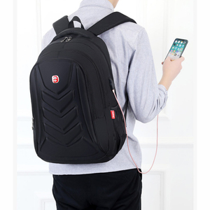 Image 5 - Mens USB Charge Waterproof Laptop Backpacks Large Capacity Male Leisure Travel Bags Student School Bookbag Computer New 2020 Big
