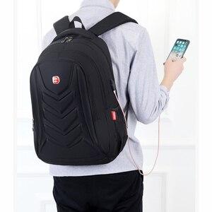 Image 5 - Mens עמיד למים תשלום USB תרמילי מחשב נייד גדול קיבולת זכר פנאי נסיעות שקיות תלמיד בית ספר תיק של מחשב חדש 2020 גדול