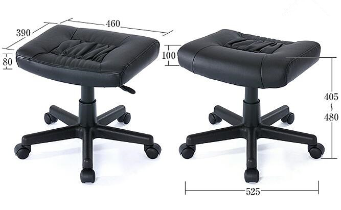 Ergonomic Ottoman Leg Rest For Office Chair With Memory Foam Furniture Stool Footstool Footrest Computer In Chairs From