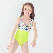 Dollplus One Piece Girls Swimwear Summer Bikini Baby Swimming Suit Beachwear Infantil Swimsuits Kids For Clothes