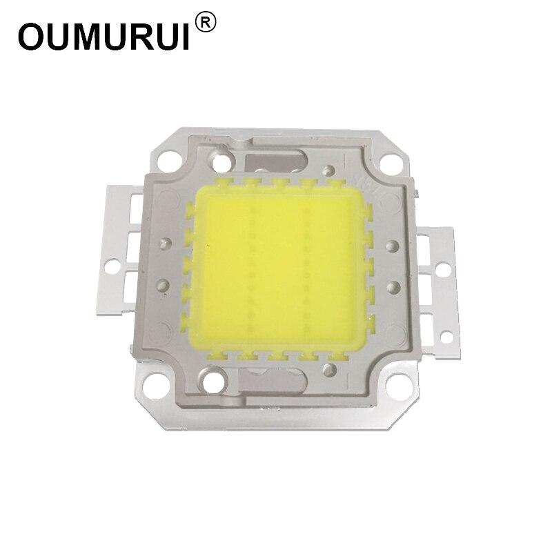 5 stücke 20W LED COB CHIP White6000K/Warme 3000K High power Lampe flutlicht 600mA 32,0-34 V 1600-1800LM 30mil Freies verschiffen