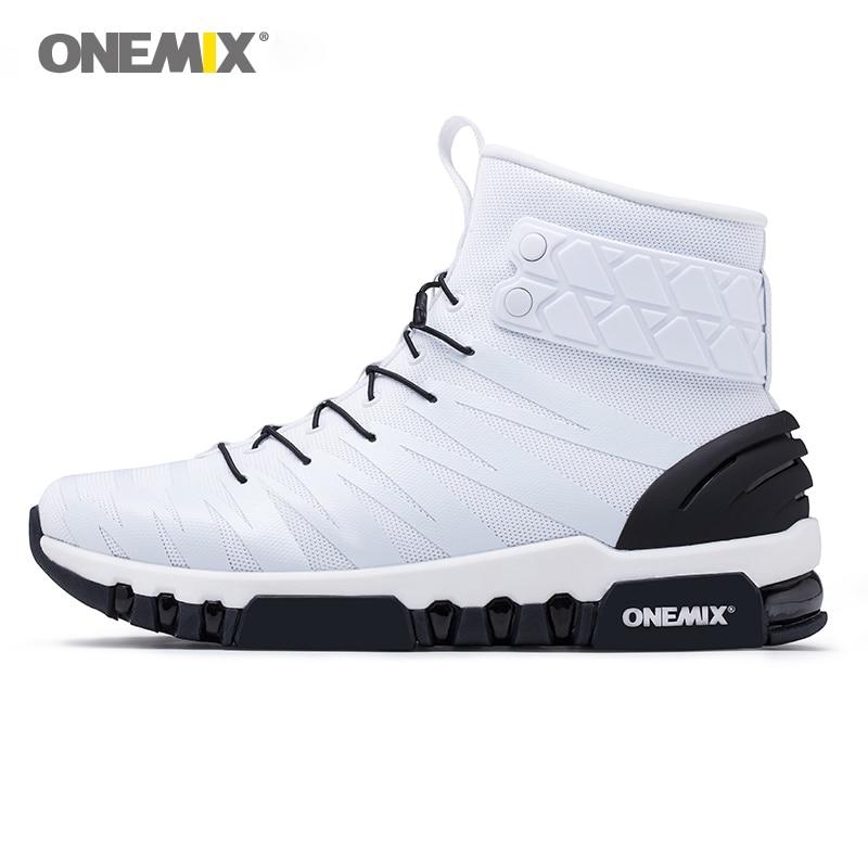 ONEMIX Delle Donne Degli Uomini di Stivali di Tutta La Palma Aria Causale All'aperto 97 Trekking Sport di Fitness Scarpe Da Ginnastica Max 12