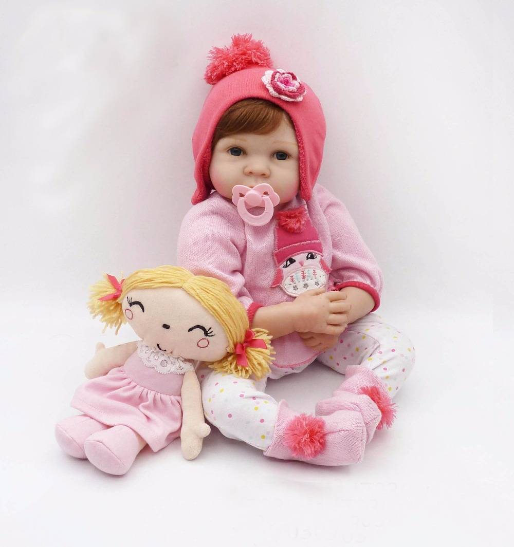 New 22 reborn babies girl dolls silicone reborn dolls cotton body soft touch luxury accessories children sleeping dolllsNew 22 reborn babies girl dolls silicone reborn dolls cotton body soft touch luxury accessories children sleeping dollls