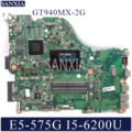 Kefu DAZAAMB16E0 ноутбук материнская плата для Acer Aspire E5-575G оригинальная материнская плата I5-6200U/7200U GT940MX