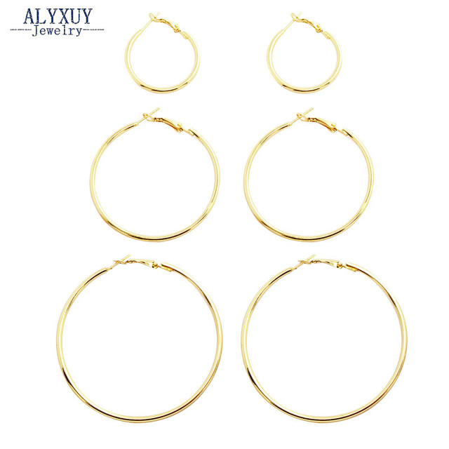 New fashion jewelry huge hoop earring set 1lot=3pairs gift for women girl E3314