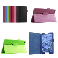 Tab3 8 Protective Bag Folio PU Leather Book Case For Lenovo Tab 3 8 8 0
