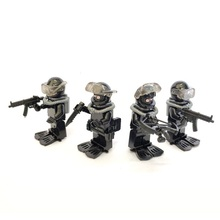 Frogman SDU Flying Tigers Special Forces City Original Toys Swat Police Military Weapons Accessories Compatible Mini Figures