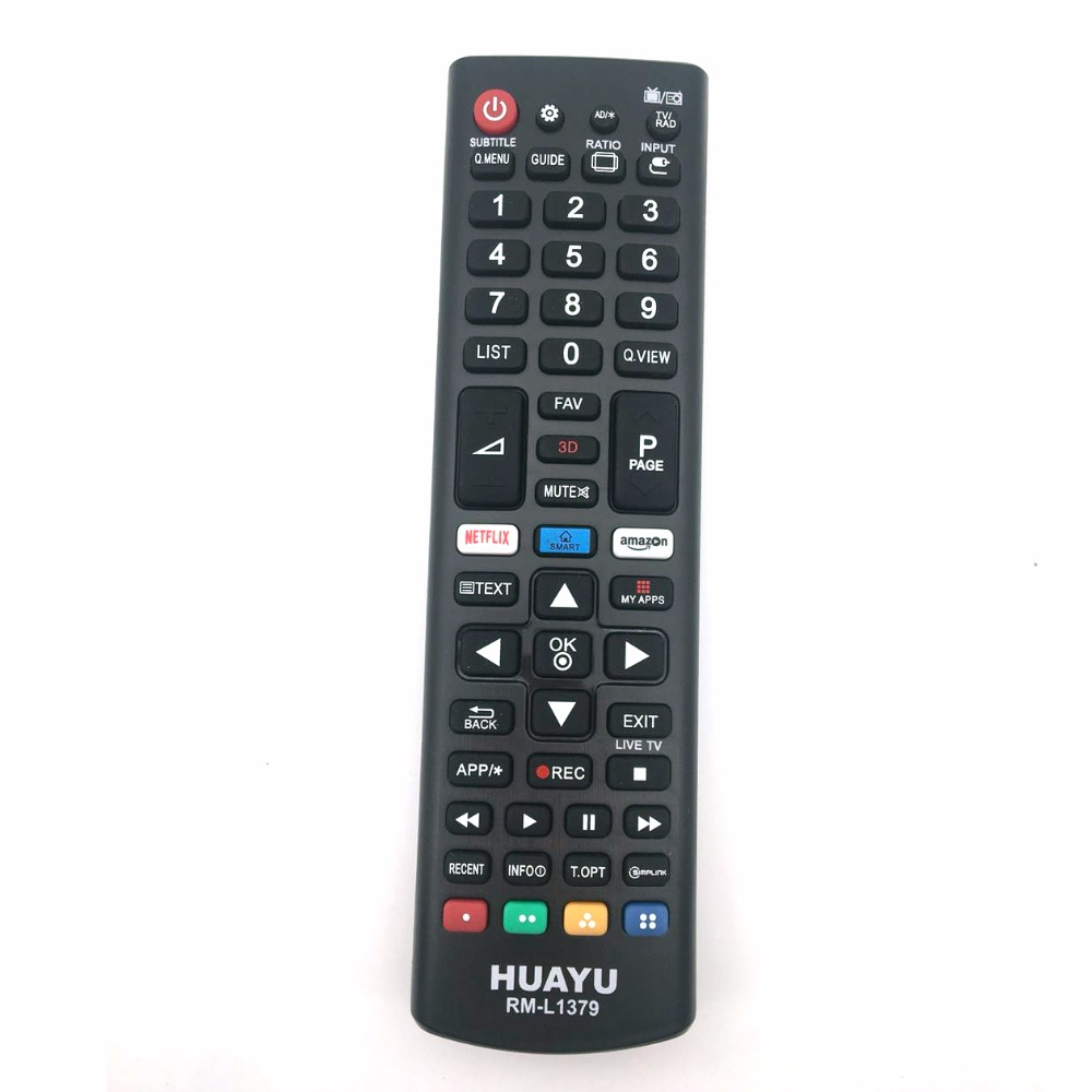 UNIVERSAL TV Remote Control for LG Smart led with amazon/netflix buttons APP image