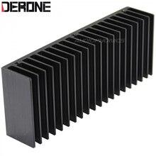 Amplificador de dissipador calor do radiador alumínio para lm3886 ou tda7293/tda7294 frete grátis