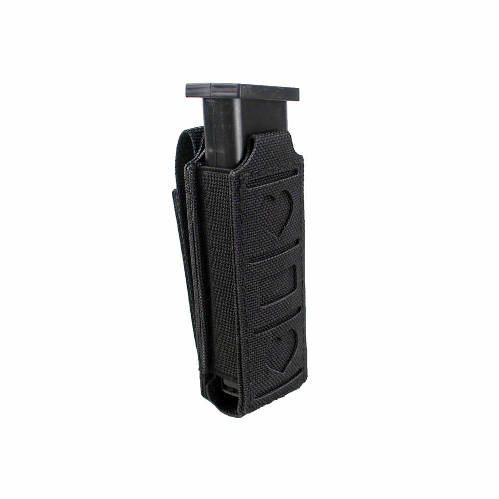 Tactical Molle Single Magazine Pouch Pistol Mag Pouch Waist Belt Multi-tool Pouch Flashlight Holster