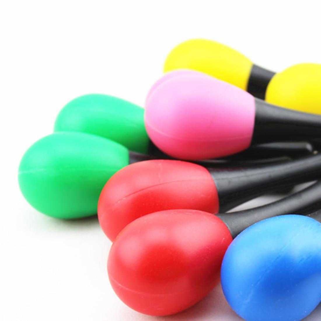 Surwish-2Pcs-Plastic-Sand-Hammer-Maraca-Rattle-Shaker-Kids-Musical-Instruments-Baby-Sound-Music-Toy-Random-Color-1