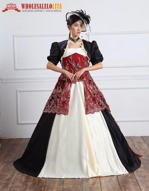 Georgian 18thc Marie Antoinette Tag Gericht Kleid Kleid Rokoko und ...
