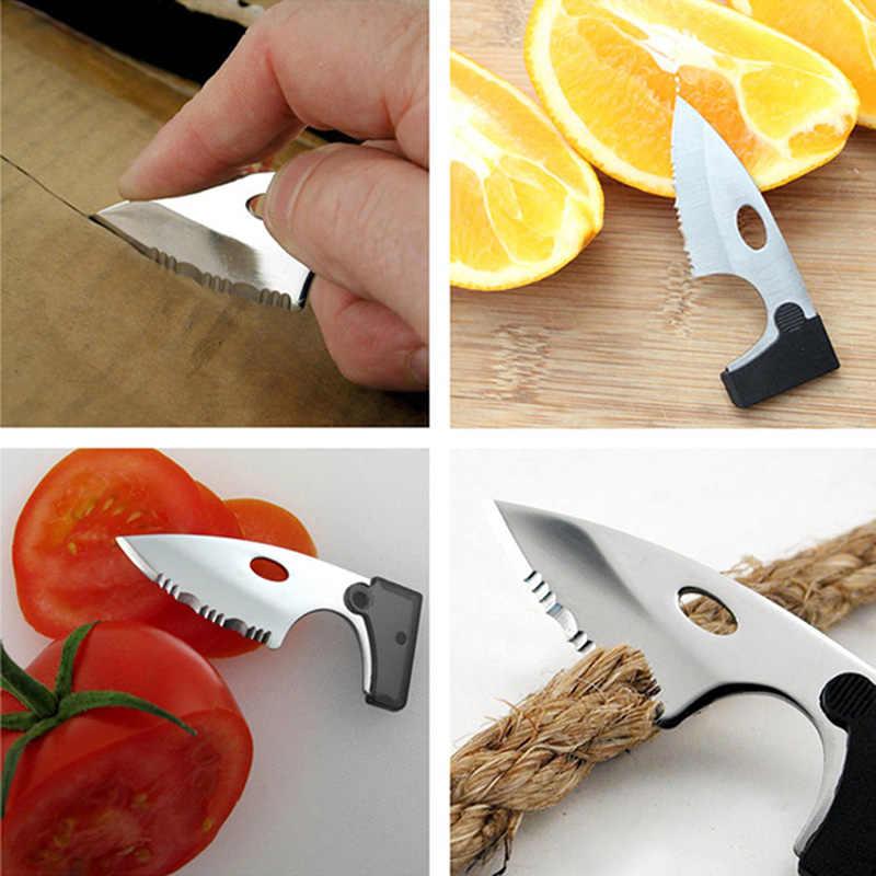 Noże kieszonkowe na zewnątrz Camping Survival zestawy EDC 9 w 1 wielofunkcyjna karta kompas lupa Multi nóż ręczny