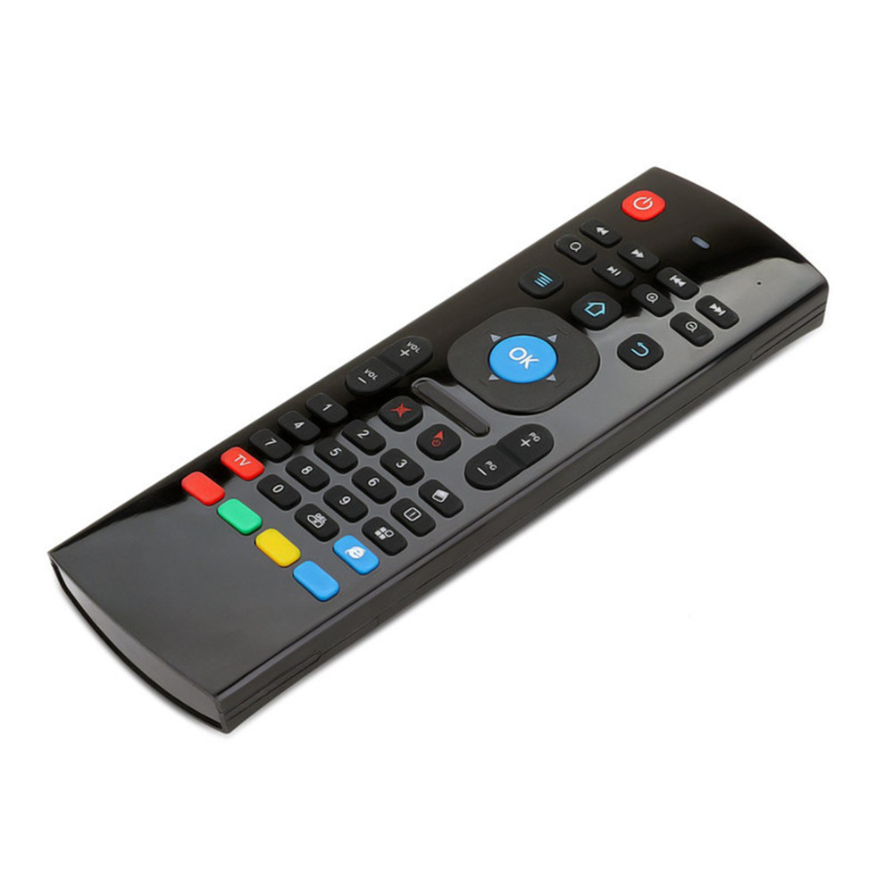 2018 Fly Air Mouse & Wireless Mini Keyboard With Mic & Remote Control T3 For Android Tv Box Media Player Better Than Mx3 X8