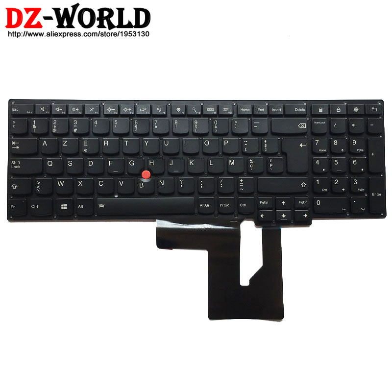 New Original Belgium Backlit Keyboard for IBM Lenovo Thinkpad S5 S531  S5 S540 Backlight Teclado 0C44808 neworig keyboard bezel palmrest cover lenovo thinkpad t540p w54 touchpad without fingerprint 04x5544