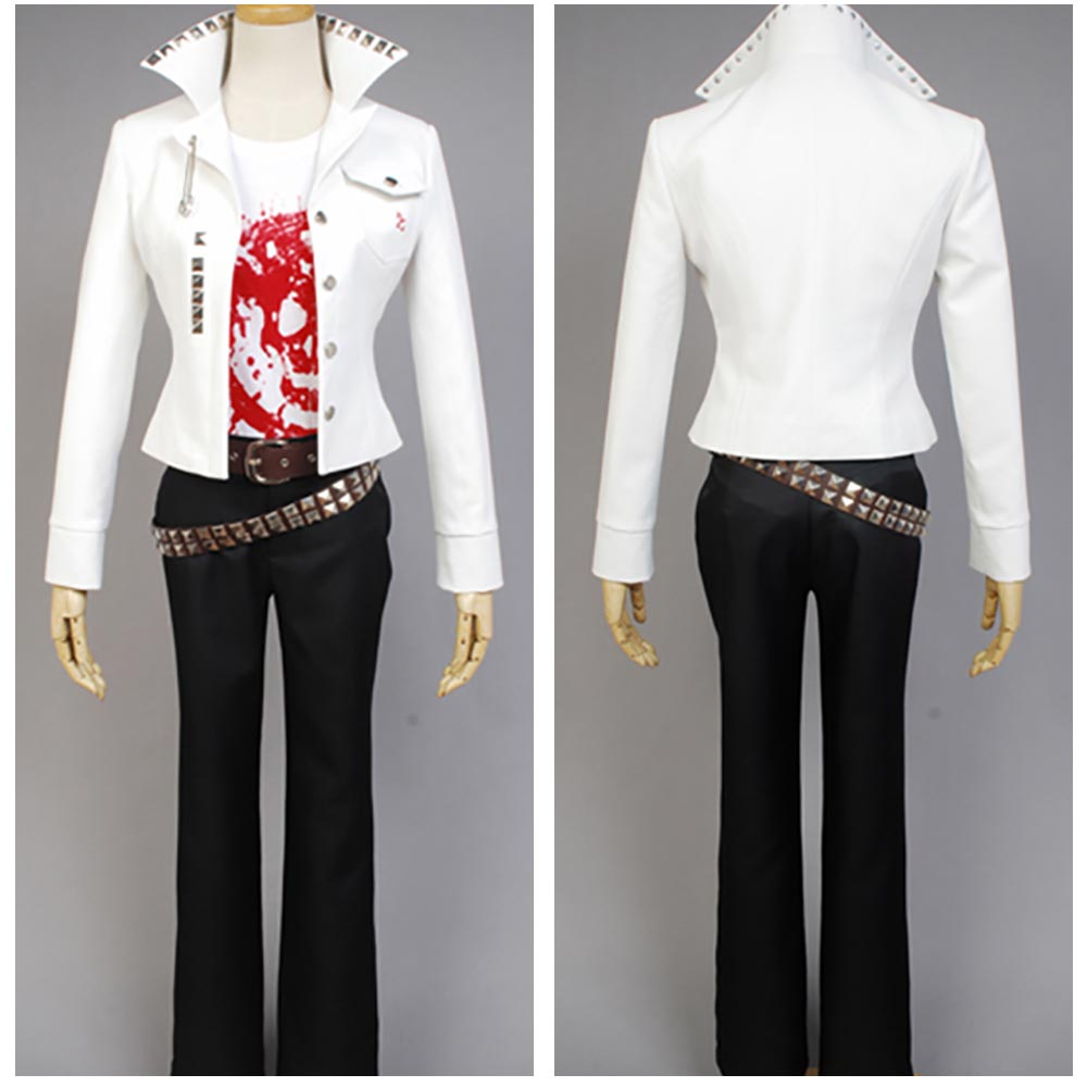2017 Hot Sale Danganronpa Leon Kuwata Sexy Costume For Women Men Full Sets
