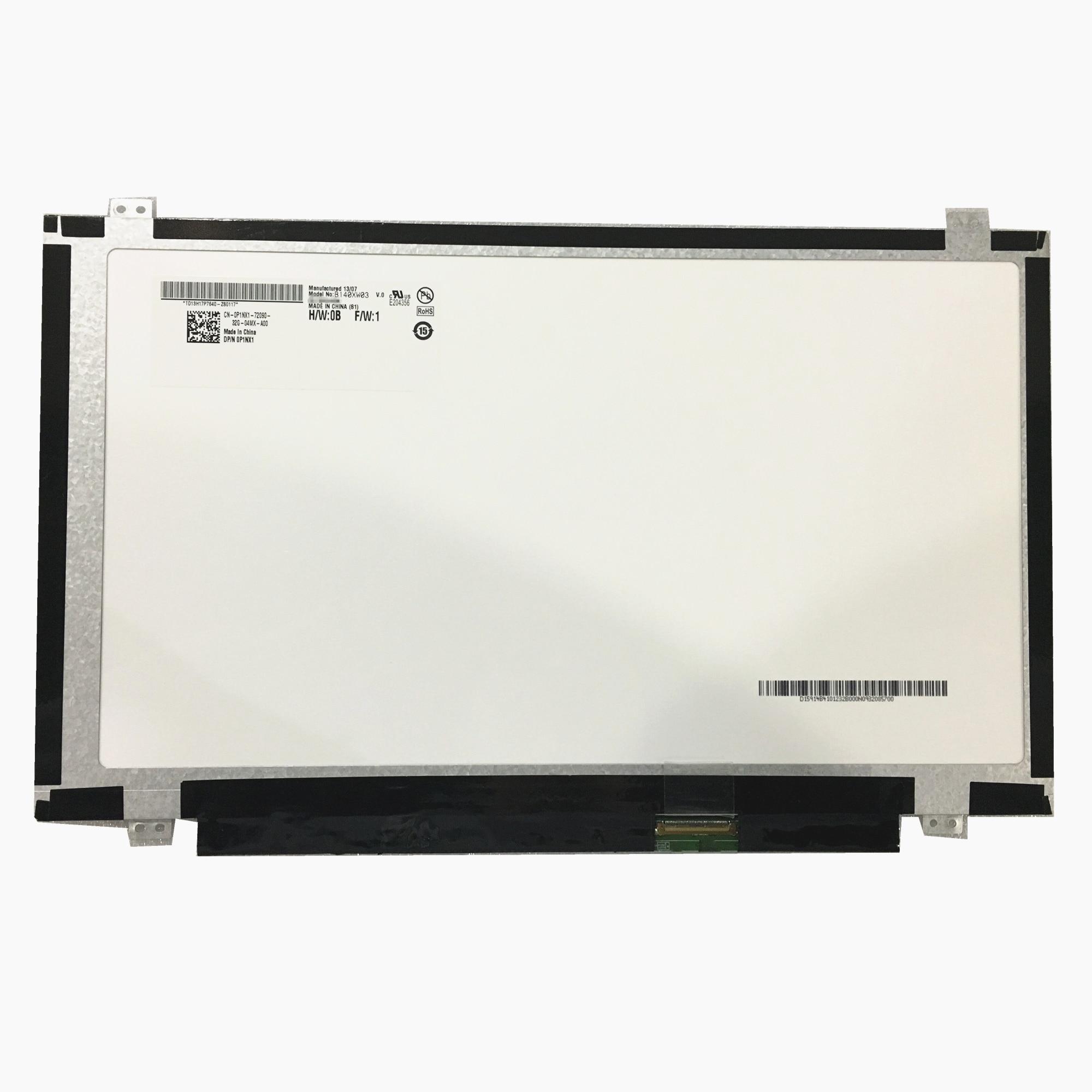 Free shipping B140XW03 V.0 V.1 V.2 B140XW02 V.2 BT140GW03 N140BGE L31 L41  LTN140AT20 LTN140AT26 Lcd Screen 40 Pins|laptop screen|b140xw03 v.0notebook  screen - AliExpress