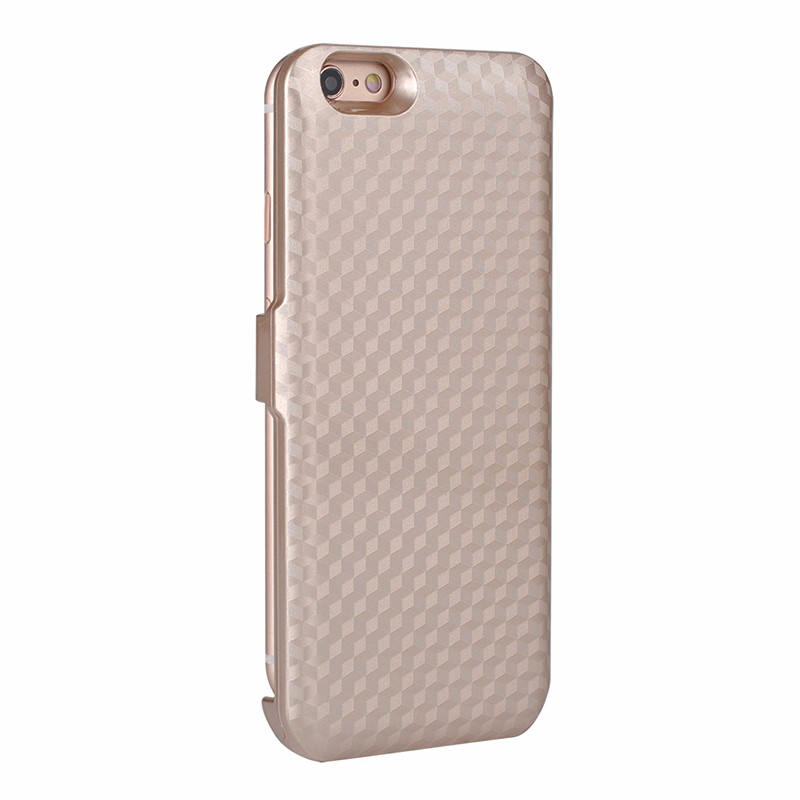 Gold bateria external rechargeable cover case for iphone 4900mah