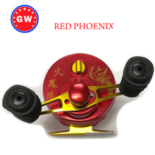 GW reel Red phoenix 100% GW brand fly fishing wheel fish line wheel for ice fishing fly fishing 50