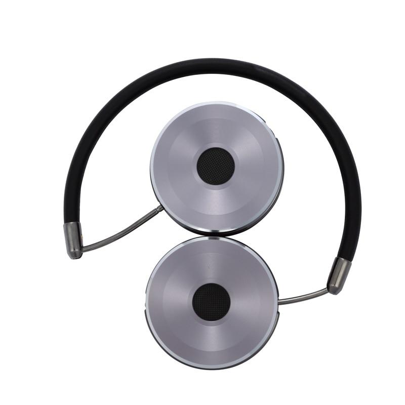 Kufje të ftohta stereo 3.5 mm me kufje Stereo me kufje Stofa lëkure - Audio dhe video portative - Foto 3