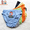 18 unids/lote personaje de dibujos animados Underewears, Ropa Interior Kids, bebé breve ropa interior del muchacho, bebé interno atnm0001 usan el envío libre